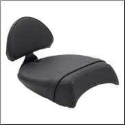 VICTORY Motorcycles Jackpot Passenger Touring Seat With Backrest