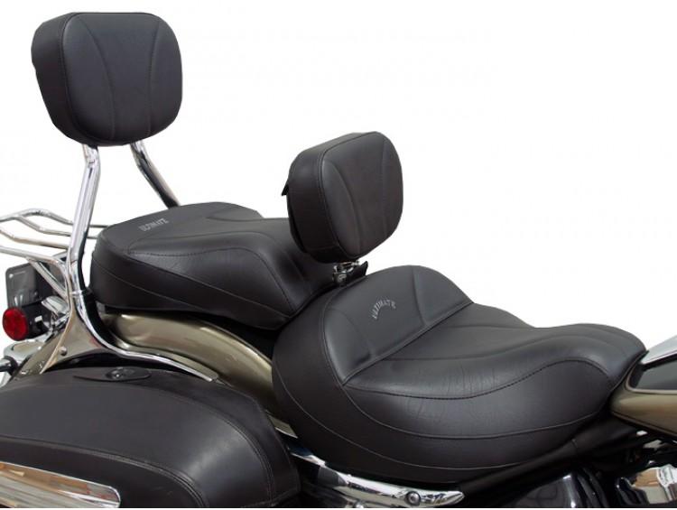 2006-up Yamaha Roadliner Stratoliner Drivers Backrest Studded
