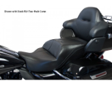 ULTRA CLASSIC ELECTRA GLIDE®/ELECTRA GLIDE® ULTRA LIMITED/ELECTRA GLIDE® ULTRA CLASSIC LOW/ROAD GLIDE® ULTRA /TRI GLIDE®/FLH® 2014-Newer - Ultimate TALL BOY Harley-Davidson® FLH® Touring - ONE PIECE Motorcycle Seats