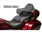 GOLDWING GL 1800 (2018-2019) - Ultimate MIDRIDER Honda Goldwing GL 1800 Motorcycle Seats