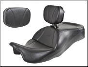 ROAD GLIDE®/STREET GLIDE®/ROAD KING®/CVO 2009-2013 - Ultimate MIDRIDER Harley-Davidson® FLH® Touring - ONE PIECE Motorcycle Seats