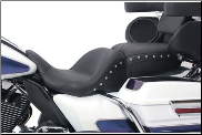 ELECTRA GLIDE®/ROAD GLIDE®/STREET GLIDE®/ROAD KING® - Mustang LOWDOWN™ Harley-Davidson® FLH® 2008-Up - ONE PIECE Motorcycle Seats