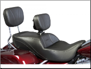 ROAD GLIDE®/STREET GLIDE®/ROAD KING®/ SLIMLINE 2009-2013 - Ultimate Harley-Davidson® Touring - ONE Piece Motorcycle Seats
